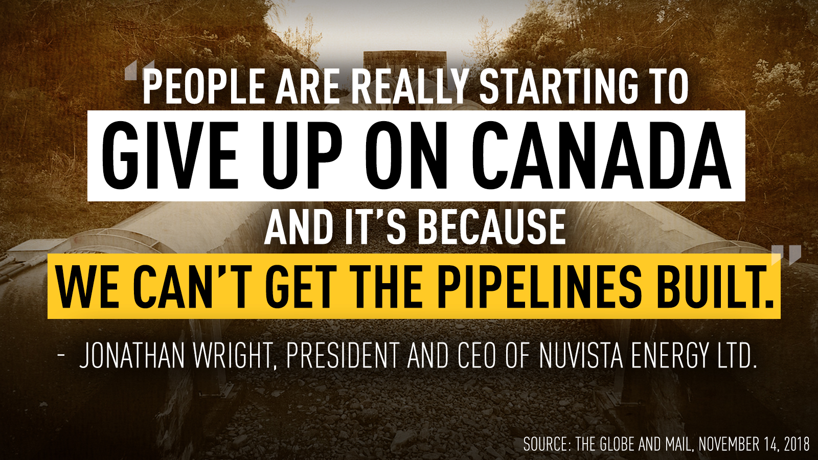 "WARKENTIN CALLS ON PRIME MINISTER TO KILL THE ""NO PIPELINES""BILL C-69"