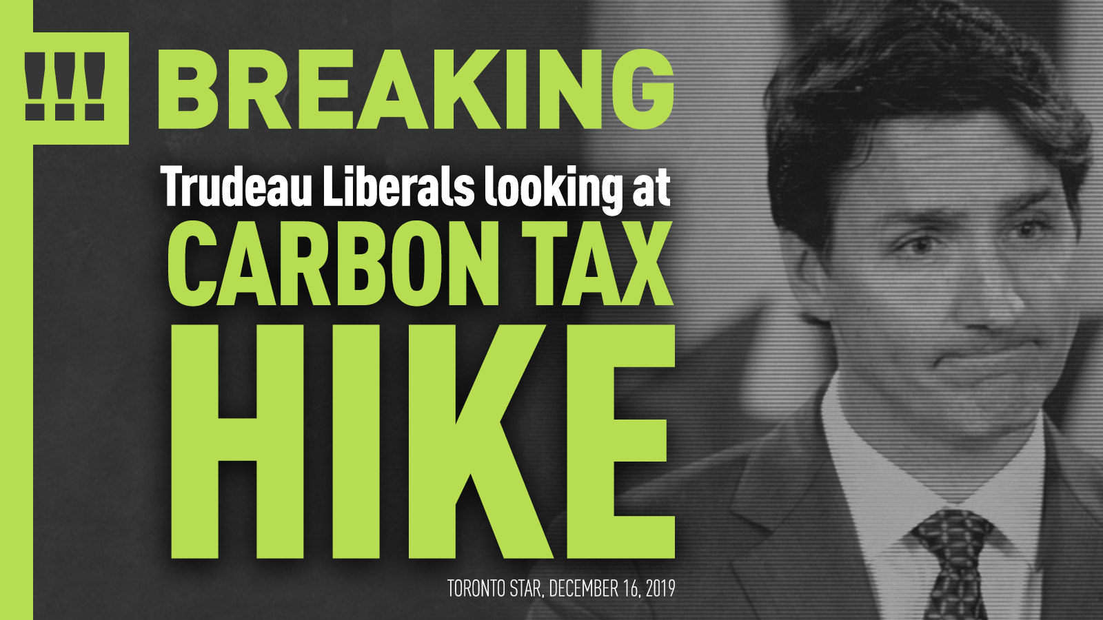 WARKENTIN'S STATEMENT ON THE FEDERAL CARBON TAX BEING IMPOSED ON ALBERTANS