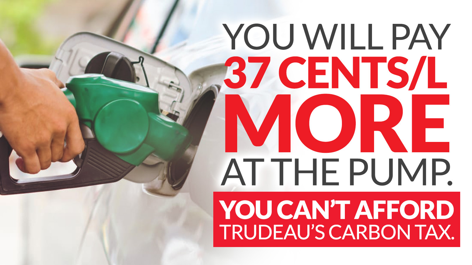 LIBERAL CARBON TAX TO TRIPLE, ENERGY WORKERS AND ALL CANADIANS WILL PAY